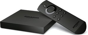 amazon fire tv box and remote