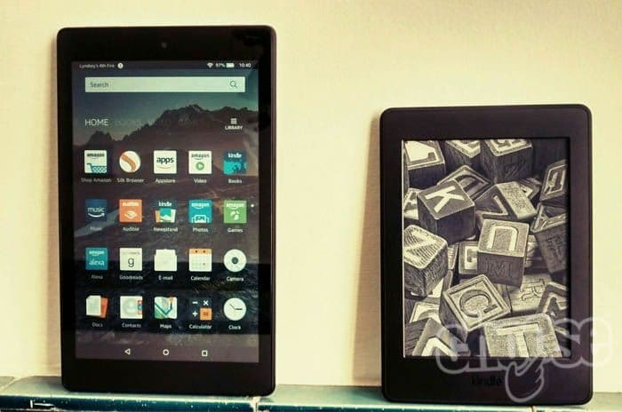 Kindle Paperwhite vs Amazon Fire HD 8: which is best?