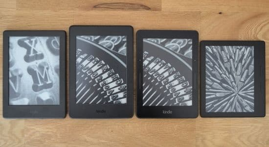 Which is the best: Kindle v Paperwhite v Voyage v Oasis